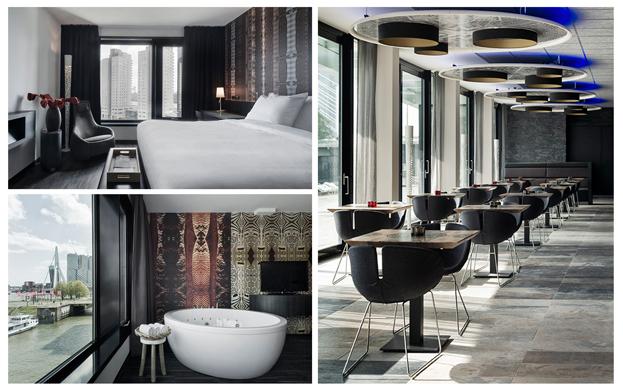 Mainport design hotel rotterdam for Designhotel rotterdam